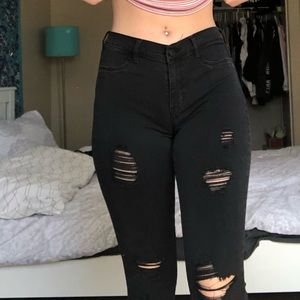 PacSun Jeans - Pacsun midwaisted ripped skinny jeans